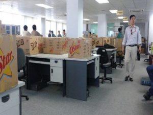 Dịch vụ chuyển văn phòng trọn gói tại quận Long Biên