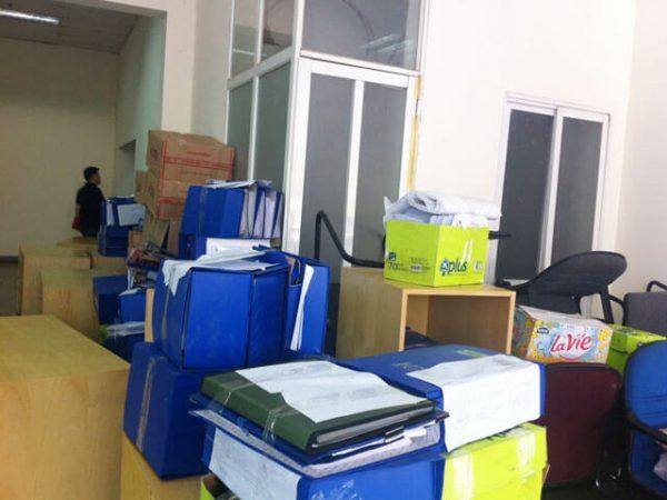 Dịch vụ chuyển văn phòng trọn gói tại quận Hai Bà Trưng