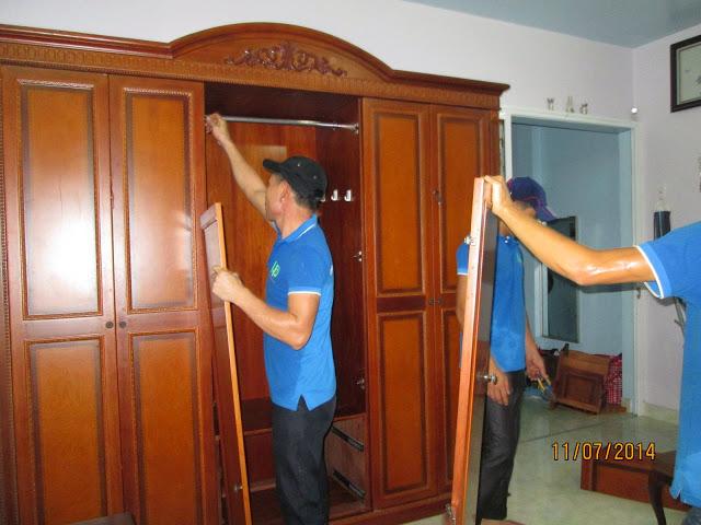 Dịch vụ chuyển văn phòng trọn gói tại quận Ba Đình