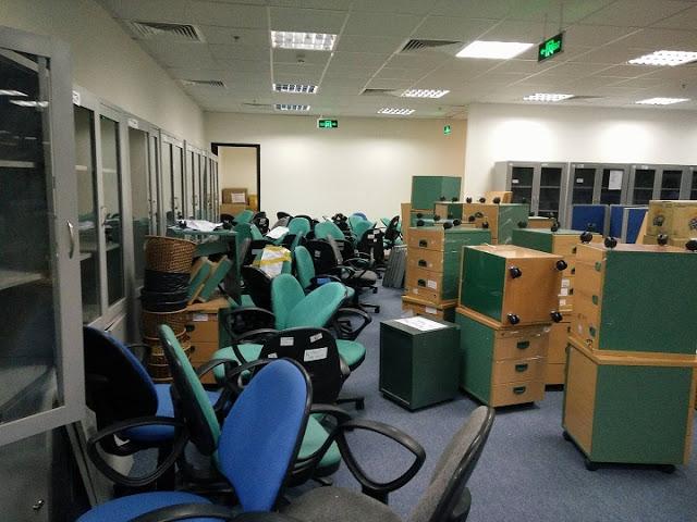 Dịch vụ chuyển văn phòng trọn gói tại quận Tây Hồ