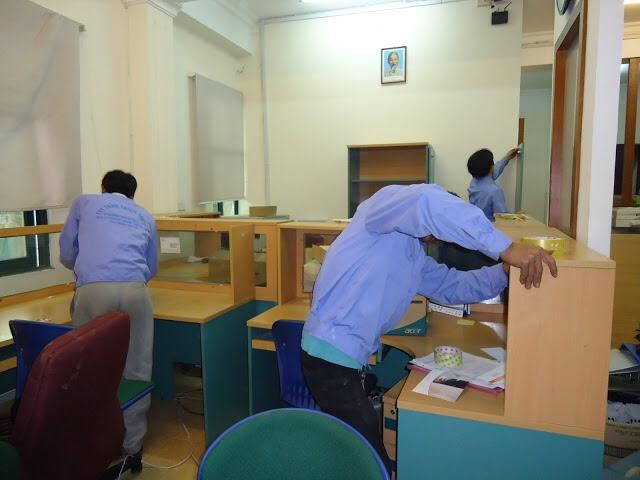 Dịch vụ chuyển văn phòng trọn gói tại quận Hoàn Kiếm