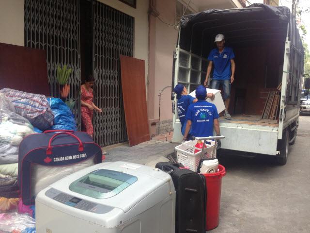 Dịch vụ chuyển nhà tại quận Long Biên